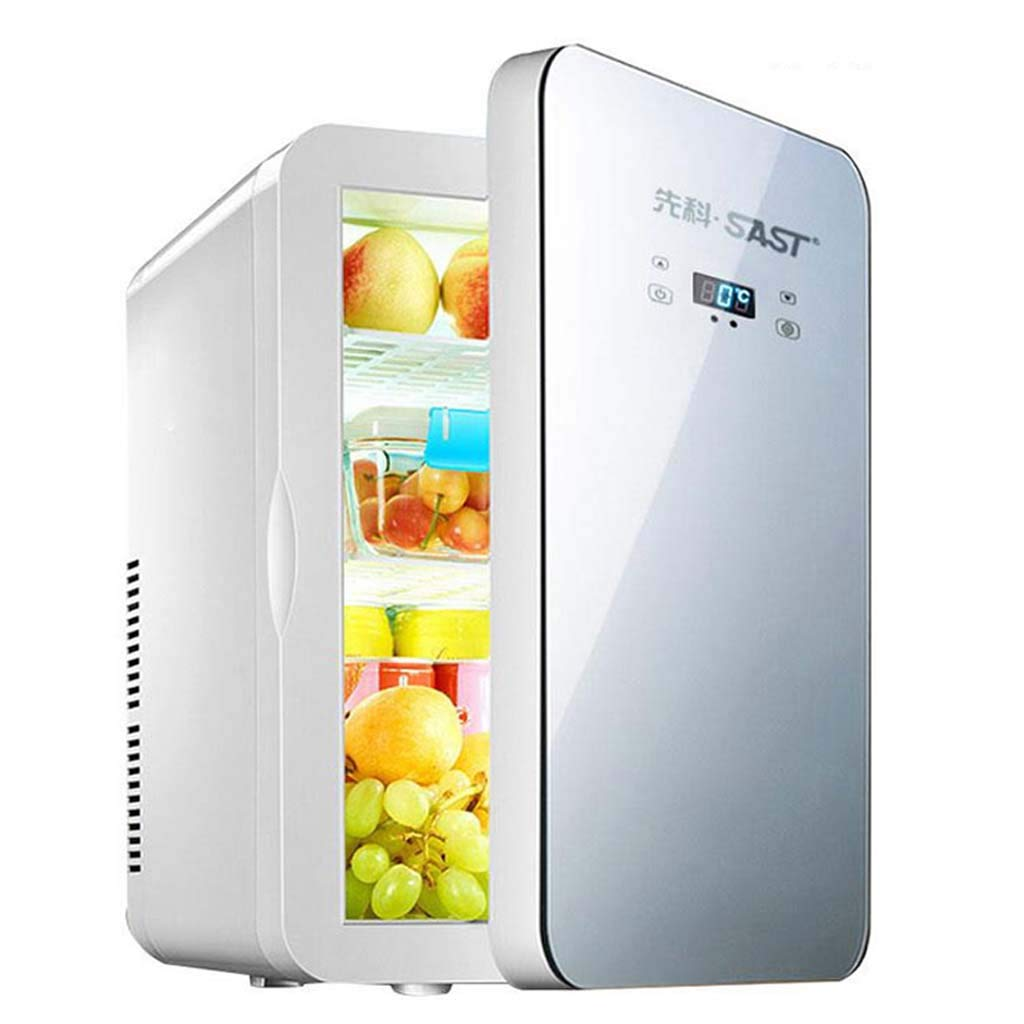Roscloud Everyday Home 22l Car Refrigerator Mini Small Household Dormitory Car and Home Dual-Use Student Single-Door Fridge/Energy Saving/Mute