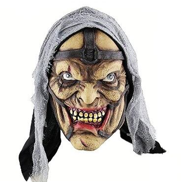 Photos Of Caribbean Carnival Costumes (Creepy Scary Halloween Cosplay Costume Mask for Adults Party Favors or Huanted House Decoration Props)