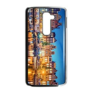 LG G2 Cell Phone Case Covers Black amsterdam City E5919511