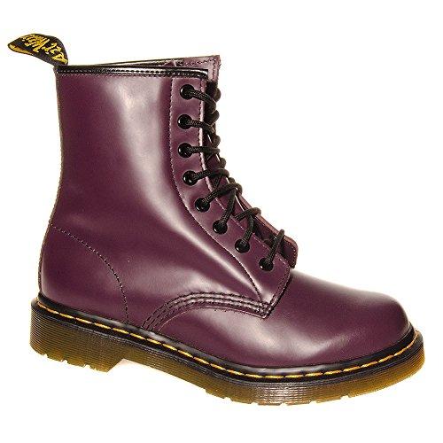 Dr Martens 1460 Smooth Boots (Violet)