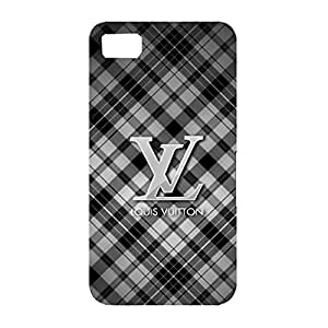 Fashionable Grid Background Louis Fashion Vuitton Phone Case Elegant Hard Cover for Blackberry Z10