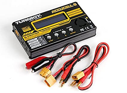 Xingcolo Turnigy Accucel-6 80W 10A Balancer Charger LiPo Life NiMh NiCd JST-XH