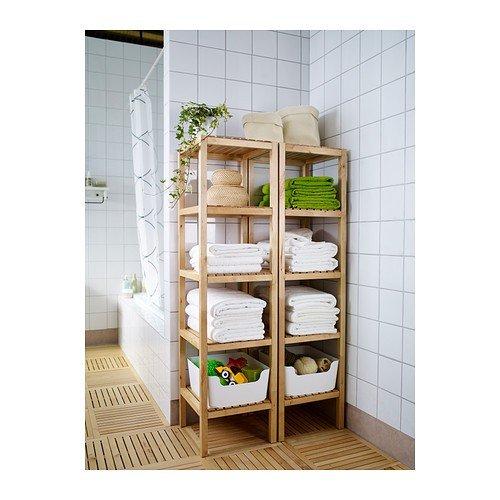 Ikea MOLGER Regal aus massiver Birke: Amazon.de: Küche & Haushalt