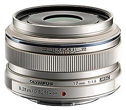 Olympus M.zuiko 17mm F1.8 (Silver) For Olympus & Panasonic Micro 43 Cameras