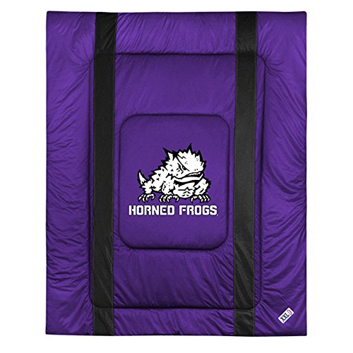 TCU SIDELINES Full / Queen Jersey Material - Sidelines Bed Full Jersey