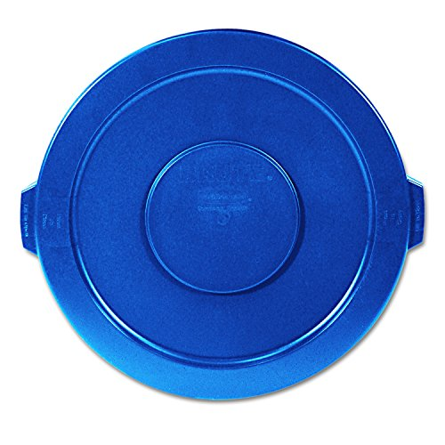 Rubbermaid 263100BE Brute Lid Only for 32 Gal Container, Blue ()
