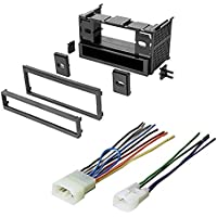 TOYOTA, TOYOTA CONTINENTAL 1986 - 1999 CAR STEREO RADIO CD PLAYER RECEIVER INSTALL MOUNTING KIT WIRE HARNESS-
