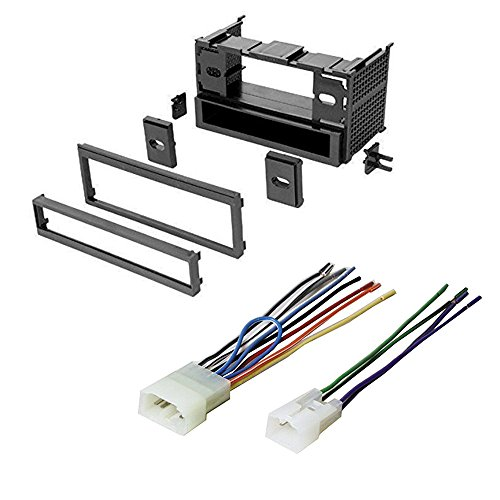 TOYOTA, TOYOTA CONTINENTAL 1986 - 1999 CAR STEREO RADIO CD PLAYER RECEIVER INSTALL MOUNTING KIT WIRE HARNESS- (Toyota Tercel Car compare prices)