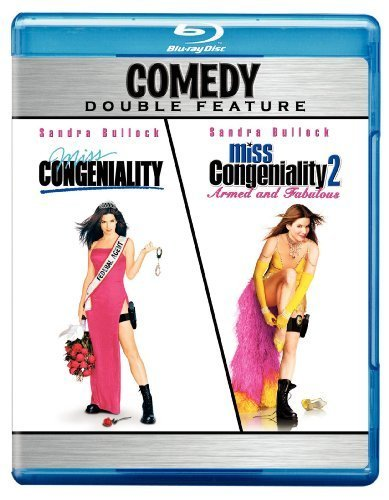 Miss Congeniality / Miss Congeniality 2: Armed and Fabulous (Comedy Double Feature) [Blu-ray] by Warner Home Video