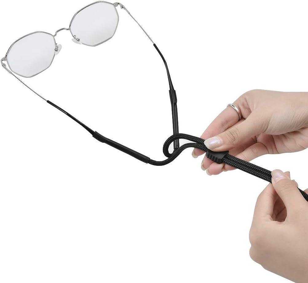 5 Farben N//A 9 St/ück Brille Seil Sportbrillen-Lanyards 70cmx6mm Brillenband Brillenkordel Brillenkette