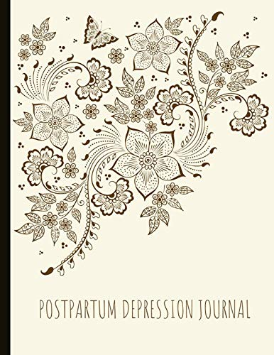 Postpartum Depression Journal Beautiful Journal For Ppd With Energy