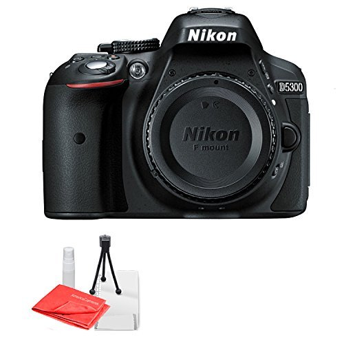 Nikon D5300 24.2 MP CMOS Digital SLR Camera with Built-in Wi-Fi and GPS Body Only - With Camera Nikon Wifi
