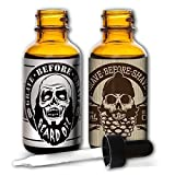 Grave Before Shave Beard Oil 2 Pack by Fisticuffs Mustache Wax