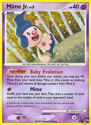 Pokemon Card Promo #DP22 - MIME JR. lv.5 (holo-foil) ()