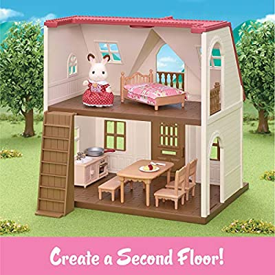 Calico Critters Red Roof Cozy Cottage: Toys & Games