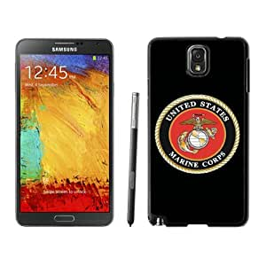 Us Marine Corps Black Abstract Design Custom Samsung Galaxy Note 3 N9005 Case