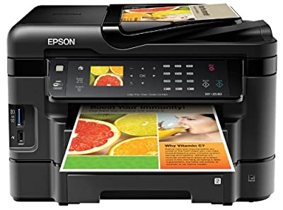 Epson WorkForce WF 3530 Wireless Color Printer with Scanner, Copier and Fax