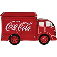 Westland Giftware Ceramic Cookie Jar, 6.5-Inch, Coca-Cola Delivery Truck