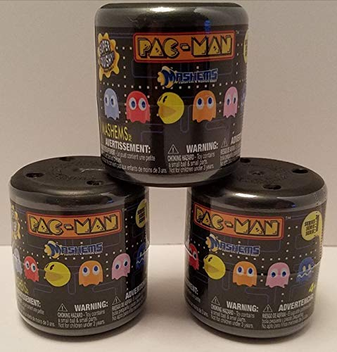 Man Pac Face (Pac-man Licensed Mashems Blind packs - 3 pack by T4K)