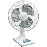 Comfort Zone 16 3 Speed 90° Oscillating Table Fan | High Velocity - Adjustable Tilt with Quiet Operation