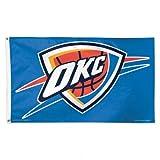 NBA Oklahoma City Thunder Deluxe Flag, 3 x 5', Multicolor
