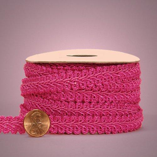 Hot Pink Gimp Braid Trim, 5/8 X 10yd 5/8 X 10yd Paper Mart 4337028047