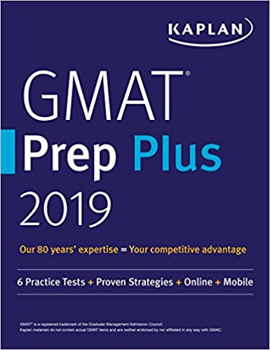 Amazon com: GMAT Prep Plus 2019: 6 Practice Tests + Proven