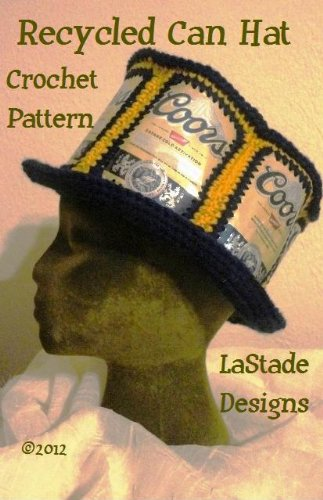 Beer Can Hat Soda Can Hat Crochet Pattern (Crochet Beer Can Hat)