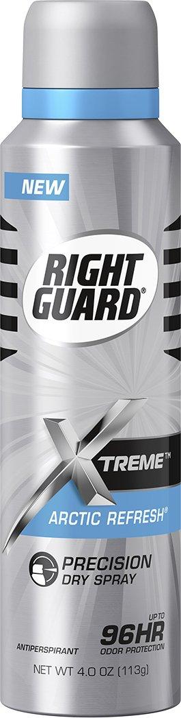 Right Guard Antiperspirant Dry Spray Deodorant, Arctic Refresh, 4 Ounce
