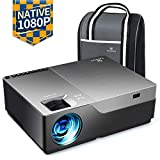 "VANKYO Performance V600 Native 1080P, 6000 LUX 300"" Movie Projector, with 50,000 Hrs lamp Life, Compatible with TV Stick, HDMI, Smartphone for Home and Business [with Bag]"