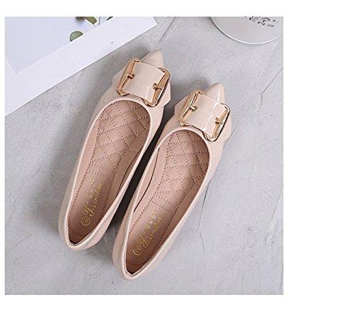 Forty Zapato inferior Solo superior Zapato Donyyyy plana mujer de estudiante gz5nwq