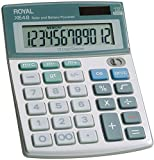 Royal - Compact Desktop Solar Calculator 2 pcs sku# 391148MA