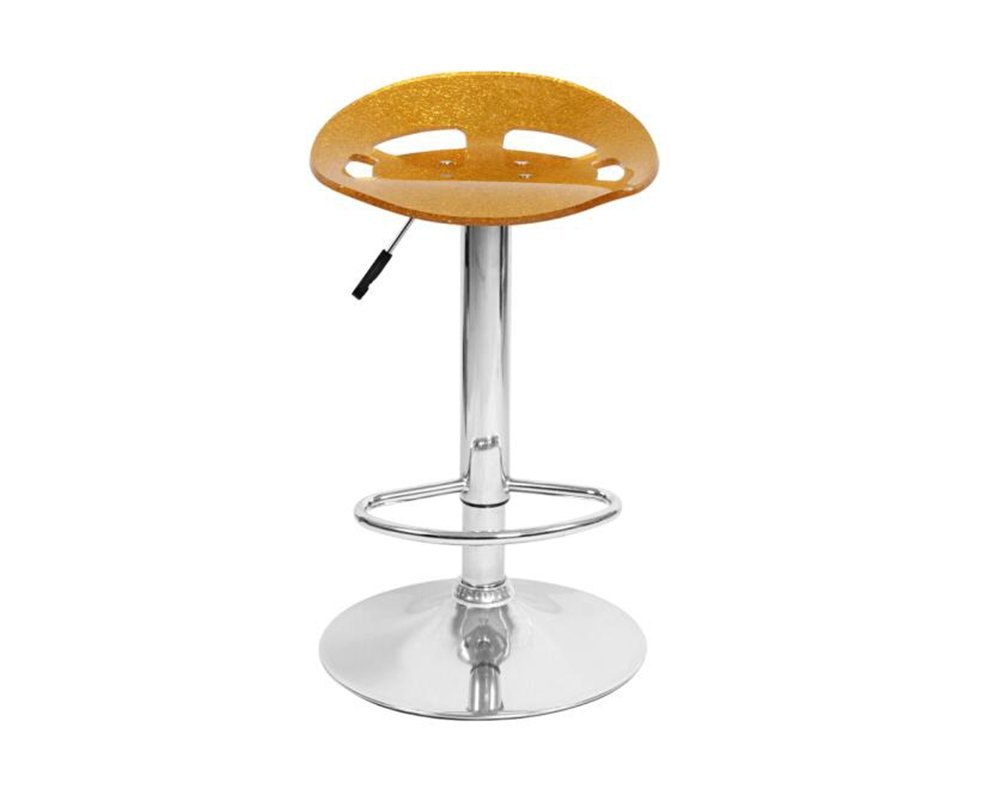GRJH® バースツール、リフトファッション回転アクリルダイニングテーブルバー美容師55-75センチメートル 安全性,快適 (色 : 赤) B07D3K18KJ 赤 赤