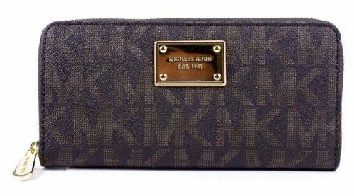 MICHAEL Michael Kors Continental Signature Logo Wallet, Bags Central