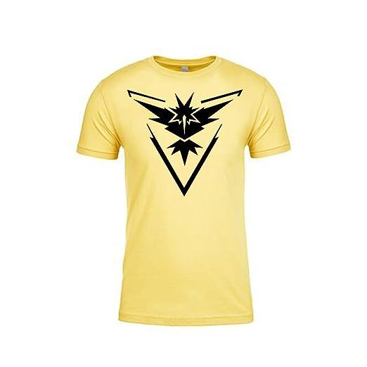 e62105f4 Pokemon Go Shirt Team Instinct Emblem Logo Pokémon GO Shirt Gym Unisex  (X-Large
