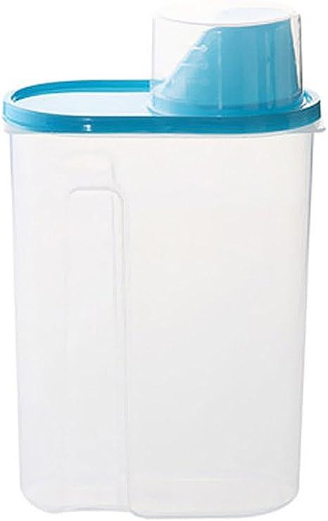 Set di contenitori per alimenti per cereali a prova di perdite e senza bisfenolo A ideale per cereali zucchero forniture da forno farina 4 l Wildone