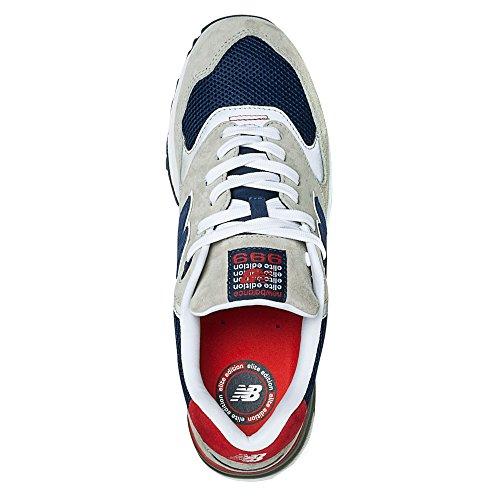 New Balance Ml999, Sneaker Uomo Grigio Chiaro/Blu Navy