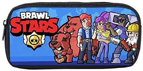 Brawl Stars - Estuche Unisex, Gran Estuche Cuadrado para lápices, papelería, Bolsa con Cremalleras para niños y niñas: Amazon.es: Equipaje