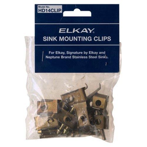 Elkay Sink Mounting Clips, 14 Pc - HD14CLIP Elkay Sink Clips
