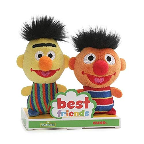(Gund Sesame Street Bert and Ernie Best Friend Set )