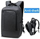 Lapacker Unisex Water Resistant Slim Enterprise Tablet Laptop Backpacks 17 Inch Traveling Bags for Men in Black with Ipad Surface Pocket Fits Macbook Pro Most Personal computer Backpacks Evaluations - 51U2ioHGBWL. SL160