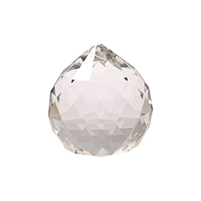 Find Something Different Crystal Sphere Bright Pearl Sun Catcher AAA Quality 4cm : Garden & Outdoor