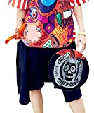 RwalkinZ Hip Hop Clothes For Girls Teenager Fashion Clothes Street Shorts Skull/Letter