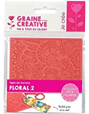 Texture mat for Polymer Paste - Floral