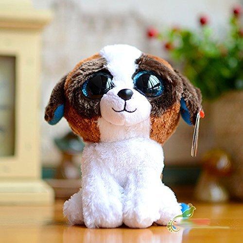 Ty Big eyes Beanie Boos Kids Baby Colorful Dog Cute Plush...