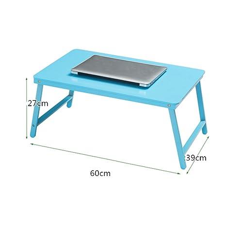 ZHIRONG Bamboo Laptop Stand Mesa Escritorio Plegable Lap ...