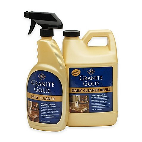 Granite Gold Daily Cleaner Refill 64 Fl Oz With Bonus 24 Fl  Oz Spray Bottle  1