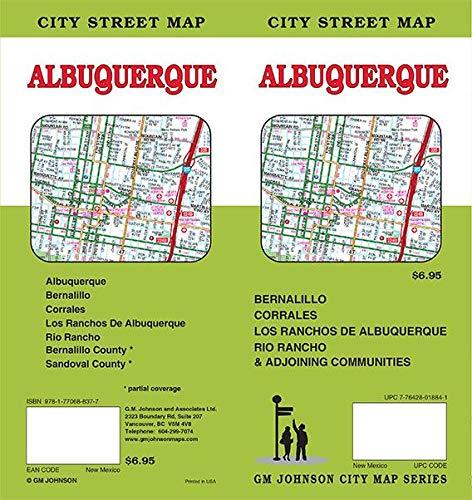 Albuquerque, New Mexico Street Map (Albuquerque Street Map)