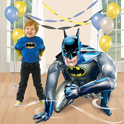 Universal Studio Batman Birthday Party Balloon 40 Inches Foil Balloon Air Walker -