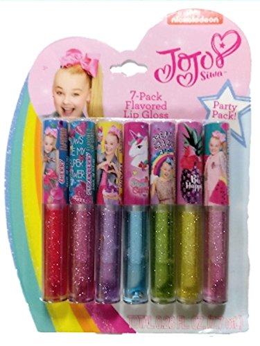JoJo Siwa Lip Gloss 7 Pack by JoJo Siwa